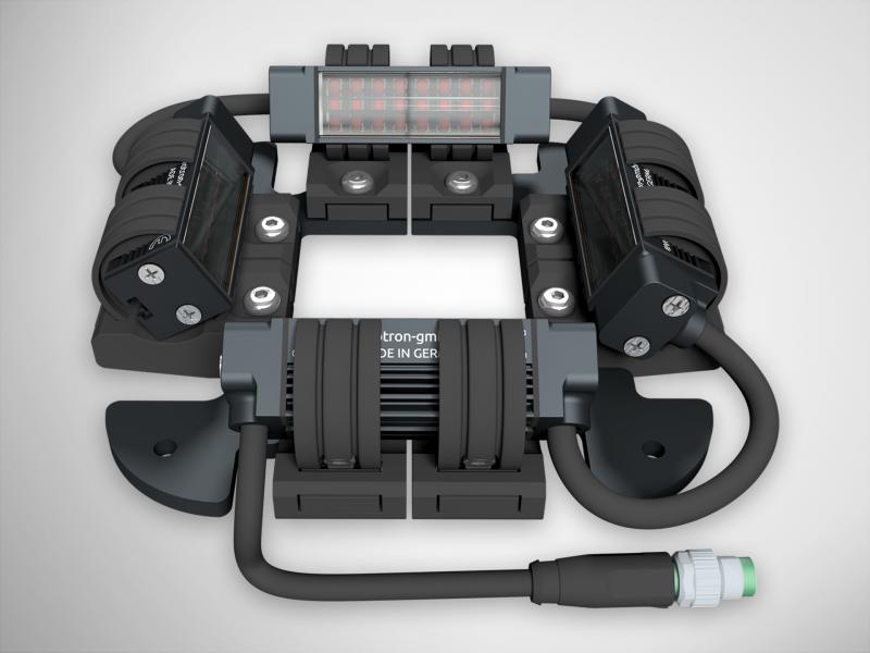 LED-Vierseitenbeleuchtung FS14-40x40-x-CLR