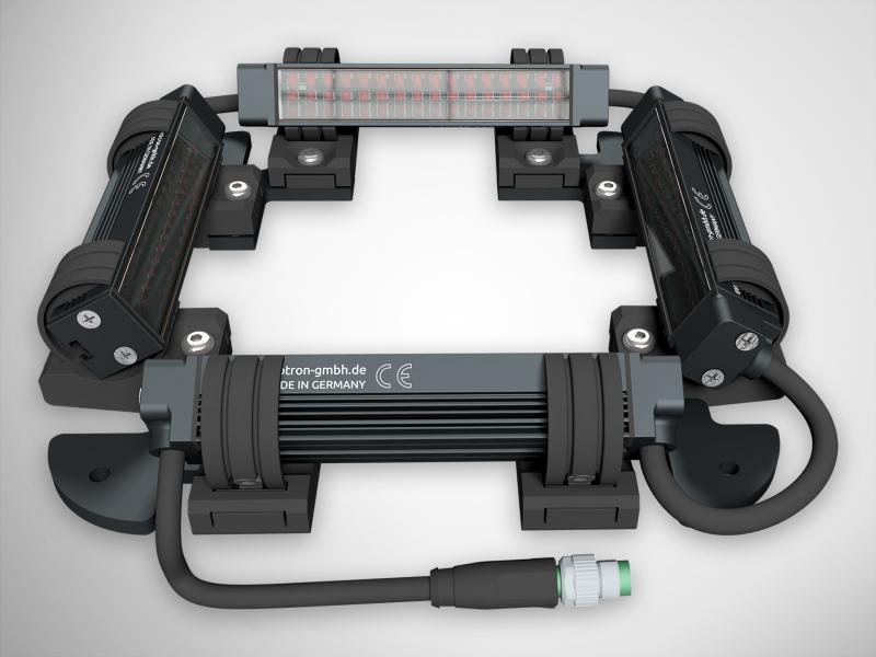 LED-Vierseitenbeleuchtung FS14-80x80-x-CLR