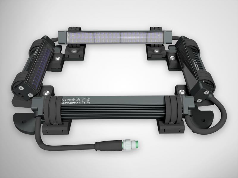 LED-Vierseitenbeleuchtung FS14-80x120-x-CLR